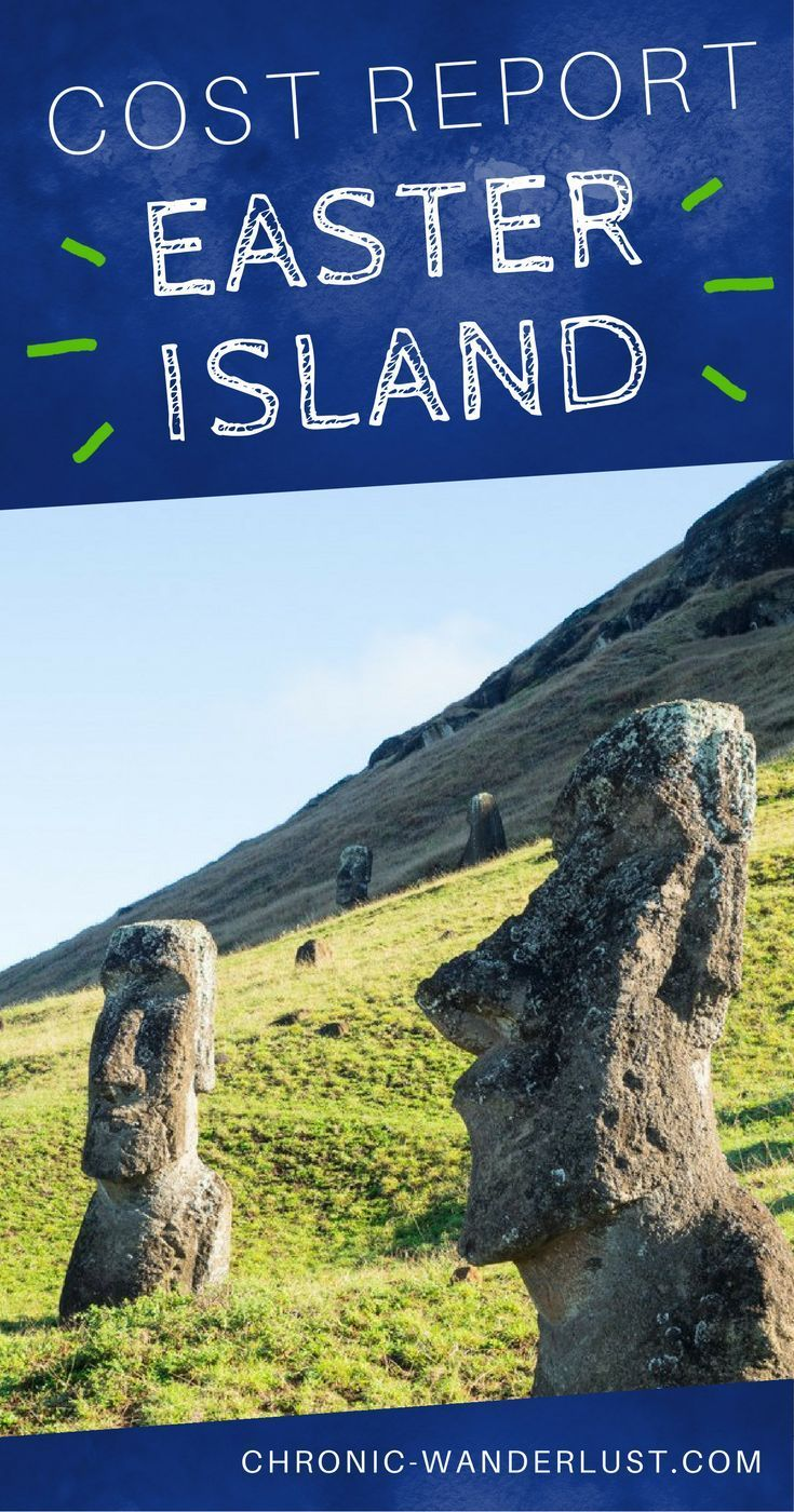 How much is it to travel to Easter Island in Chile? | Dreaming of crossing off #SouthAmerica from your #bucketlist? #EasterIsland in #Chile, is an amazing #destination to #travel too.  If you are planning to visit this part of the #world, check out my cost report, for Easter Island, so you can be better prepared!