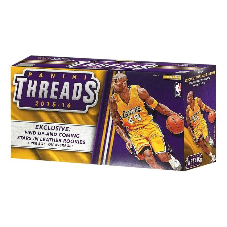 Panini Threads Collectible NBA Trading Cards Pack of 4