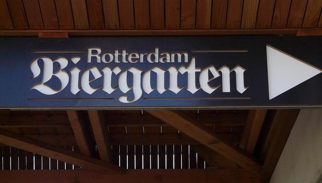 Rotterdam Biergarten