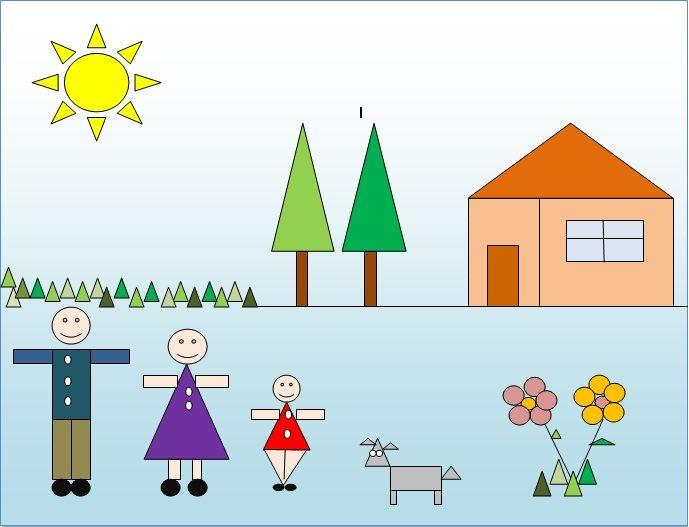 Ms de 25 ideas increbles sobre Objetos con figuras geometricas