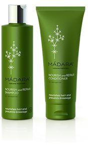 MADARA Shampoo & Conditioner - Natuurlijke Haarverzorging #haar