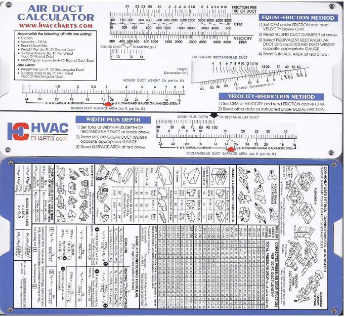 Air Duct Sizing Calculator Air duct, Hvac duct, Hvac