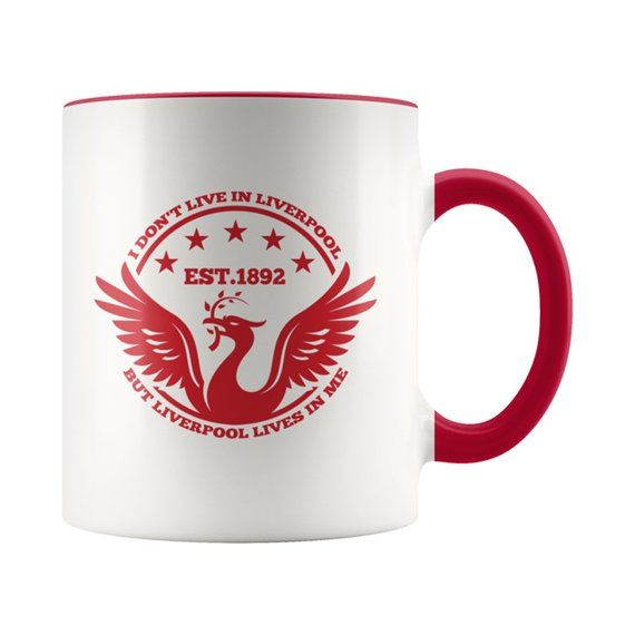Liverpool FC Mug CUP Football Club Fan Player Supporter Birthday PRESENT GIFT