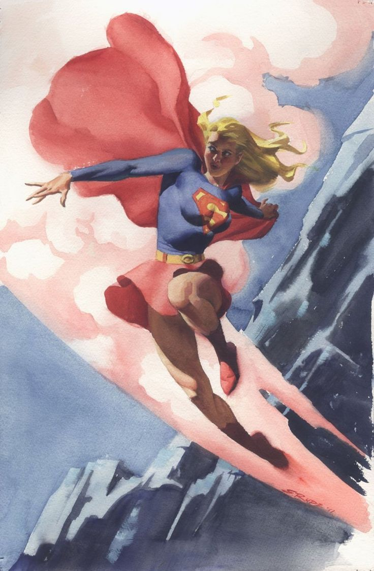 Supergirl by Steve Rude