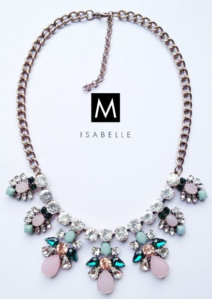 The 'Louise' Beautiful Statement Necklace by MisabelleSparkle
