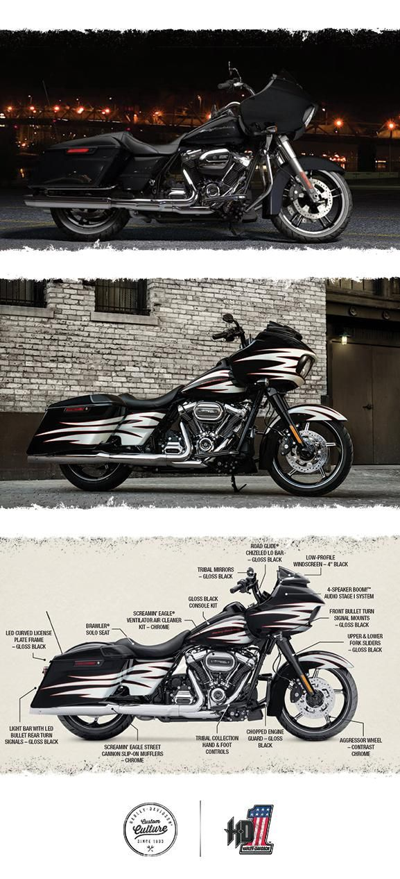 Once you experience the wind-cutting power of the frame-mounted shark nose fairing, it's hard to get behind anything less. | 2017 Harley-Davidson Road Glide