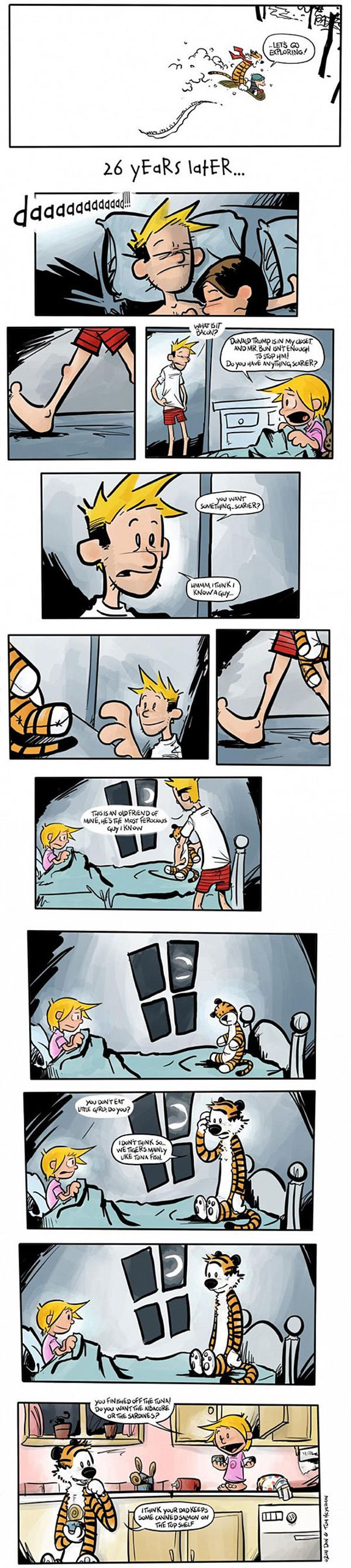 Calvin and Hobbes, the later years...