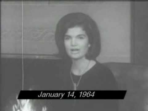 On January 14, 1964, less than two month after the assassination of President John F. Kennedy (JFK), Jackie Kennedy publicly thanks sympathizers. More at - http://www.ldcfitzgerald.com/after-jfk-assassination-jackie-kennedy-thanks-those-offering-sympathy/