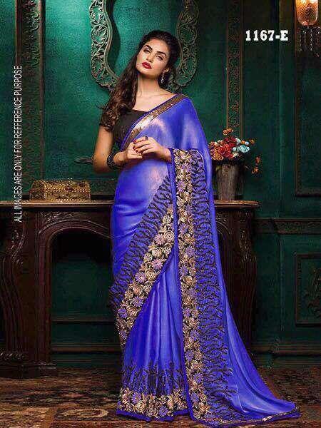 Bollywood Saree Party Wear Indian Pakistani Ethnic Wedding Designer Sari KC 650 #KRISHACREATION #BOLLYWOODSTYLE