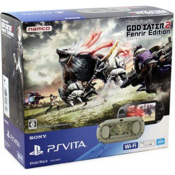 PS Vita PlayStation Vita New Slim Model - PCH-2000 [God Eater 2 Fenrir Edition]
