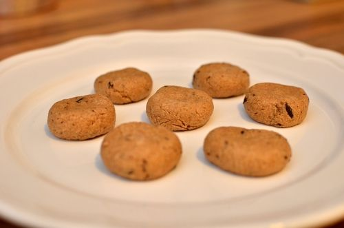 Sukkerfrie og proteinrike cookie dough-biter (Bakekona)