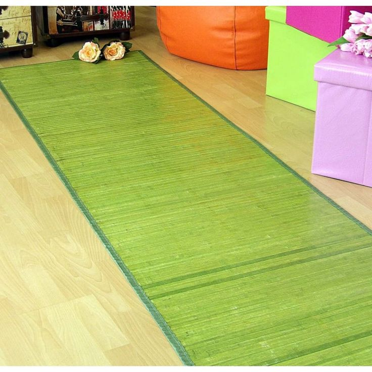 Alfombras bamb para pasillo las alfombras de bamb son - Alfombras de bambu a medida ...