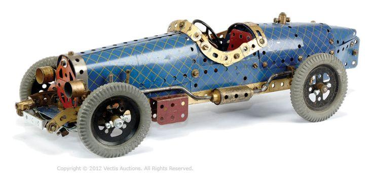 Meccano sports car