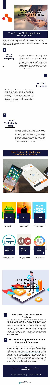How To Hire Mobile App Developer USA Mobile app