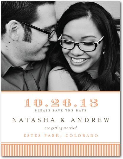Wedding Stationery Wednesday: Pantone Celosia Orange | Wedding Paper Divas Blog