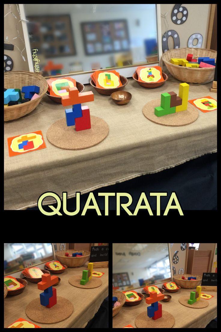 Quatrata on the maths table