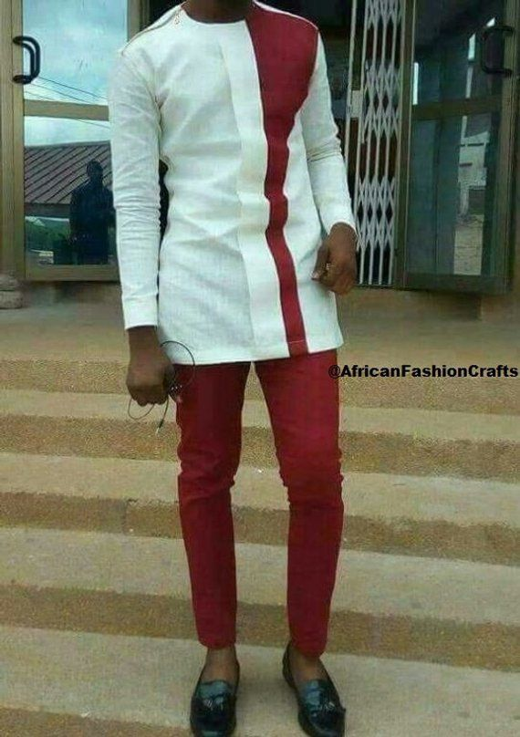 598602875 African Men's Clothing/African Fashion/African Wear/Men's Clothing/FREE  Shipping/
