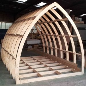 Gothic Glamping Pod Frame 4600mm Long x 2400mm Wide