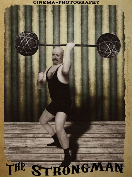 Vintage Strong Man 7