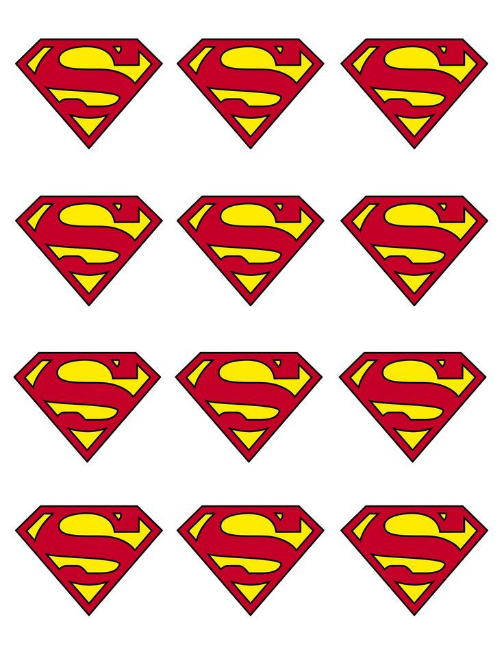Best 25 superman cupcakes ideas on pinterest superman for Superman logo template for cake