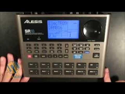 Alesis SR18: Make Like Patrick Duffy And Goes Step-By-Step - YouTube