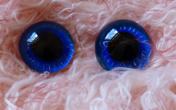 OOAK - 22mm Hand Painted German Glass Eyes with loop on back - to be used Tedd Bear,22mm Hand Painted German Glass Eyes (1 pair) Deep Purple & Green,glass eyes, teddy bear eyes, hand painted glass eyes,22mm,german glass eyes,sapphire,green,gold,blue,purple,sparkle,glitter