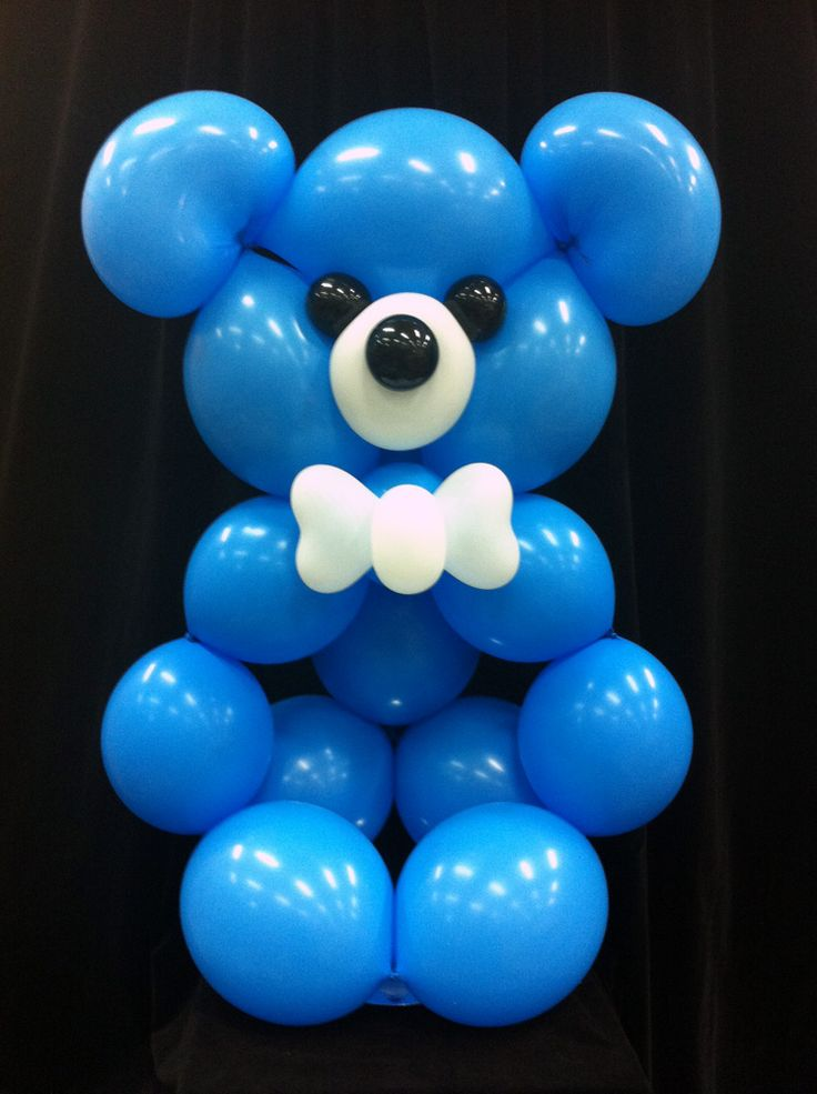 8 Best Images About Teddy Bear Balloon Decor On Pinterest