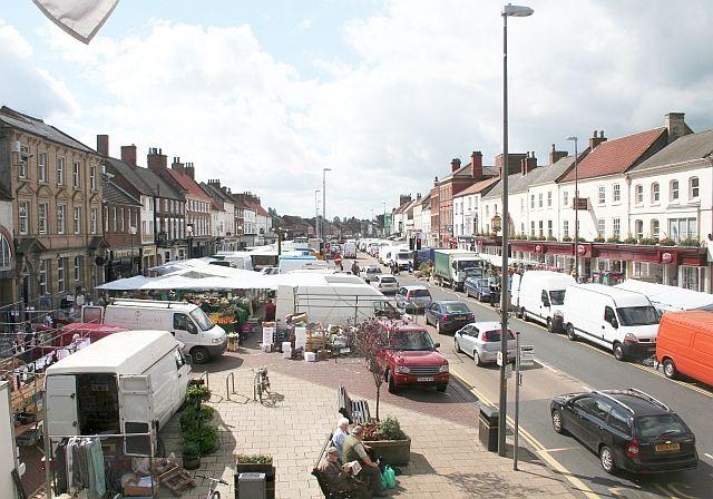 Nothallaton Market,Taken fron the Town Hall
