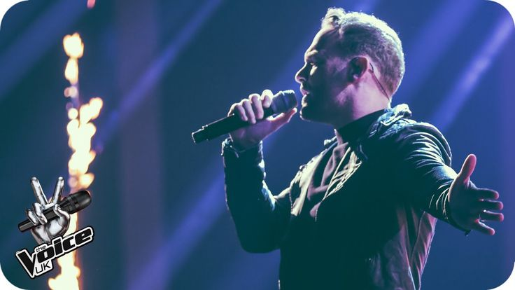 Kevin Simm performs 'Rolling In The Deep': The Live Semi Finals - The Vo...