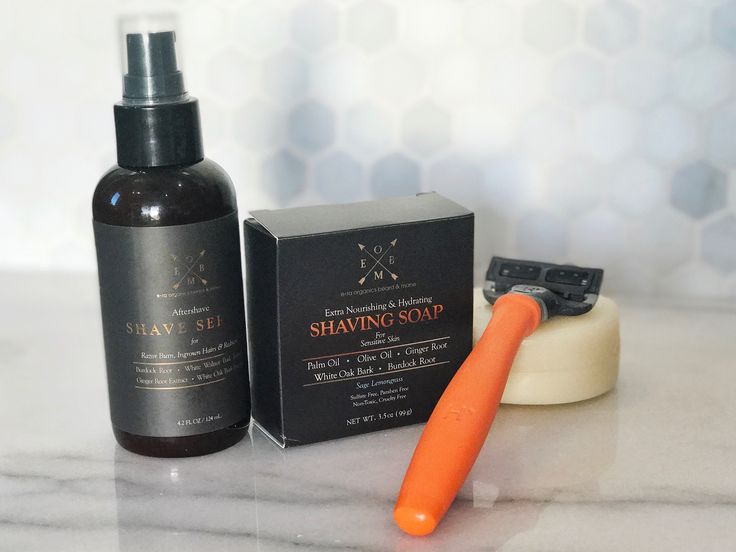 Ladies! Your shave will last twice as long by using our Shaving Soap and After Shave. These products are not just for men!