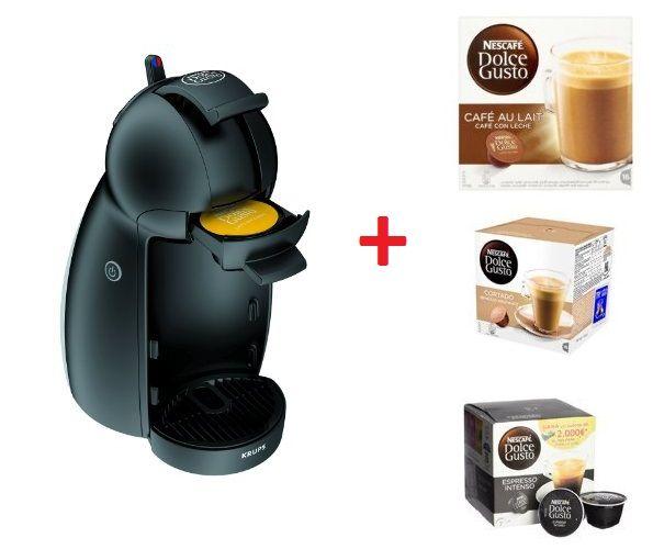 ¡Chollo!  Cafetera Dolce Gusto Piccolo con 3 packs de 16 cápsulas por menos de 49€