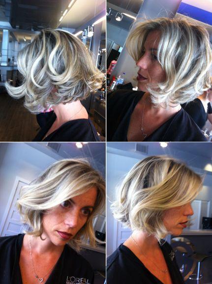 Cheveux courts texturés