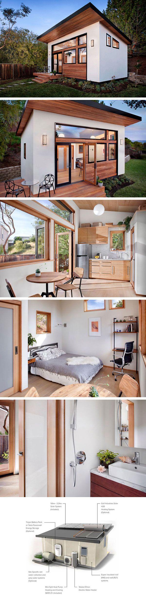 Модульный дом Britespace от Avava Systems  #tinyhomesdigest #tinyhouse #ecohouse #smallhouse