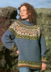 Alafoss lopi Damesweater 18 7