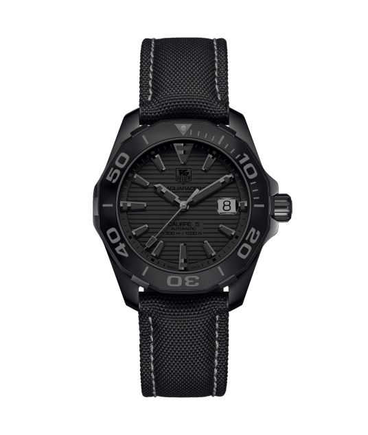 Aquaracer Calibre 5 300 M - 41 mm Black phantom WAY218B.FC6364 TAG Heuer watch price