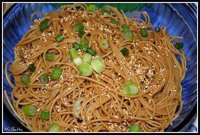 Makin' it Mo' Betta: Hibachi Soup and Sesame Noodles