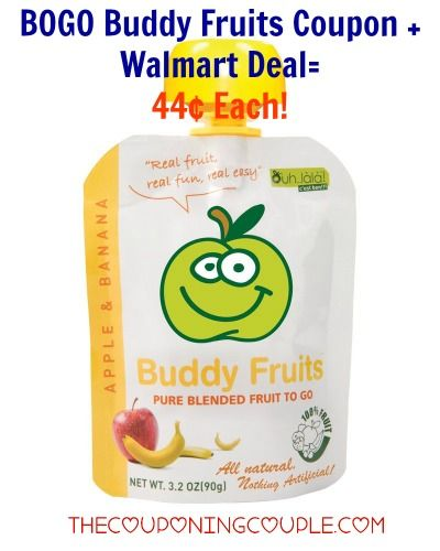 Your kids will love you when you come home with Buddy Fruits! Be sure to print the new BOGO Buddy Fruits coupon to grab these for only $0.44 each at Walmart!  Click the link below to get all of the details ► http://www.thecouponingcouple.com/new-bogo-buddy-fruits-coupon/  #Coupons #Couponing #CouponCommunity  Visit us at http://www.thecouponingcouple.com for more great posts!
