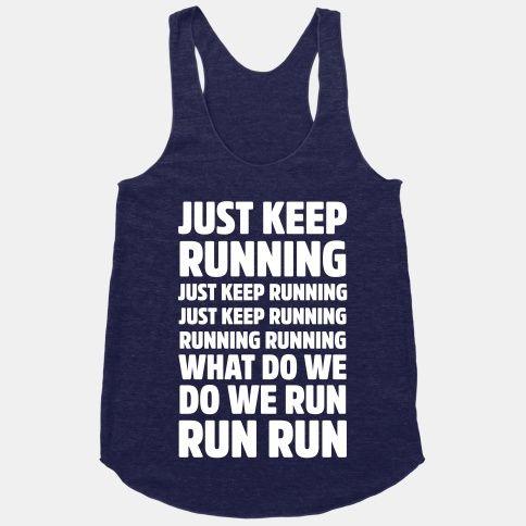 Just Keep Running <3 #running #dory #disney #workout