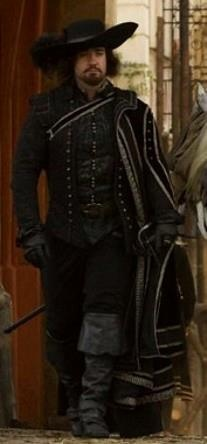 Matthew Macfadyen as Athos in The Three Musketeers