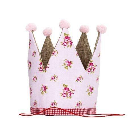 Fabric birthday crown