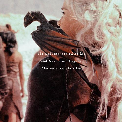 When I grow up I want to be Daenerys Targaryen