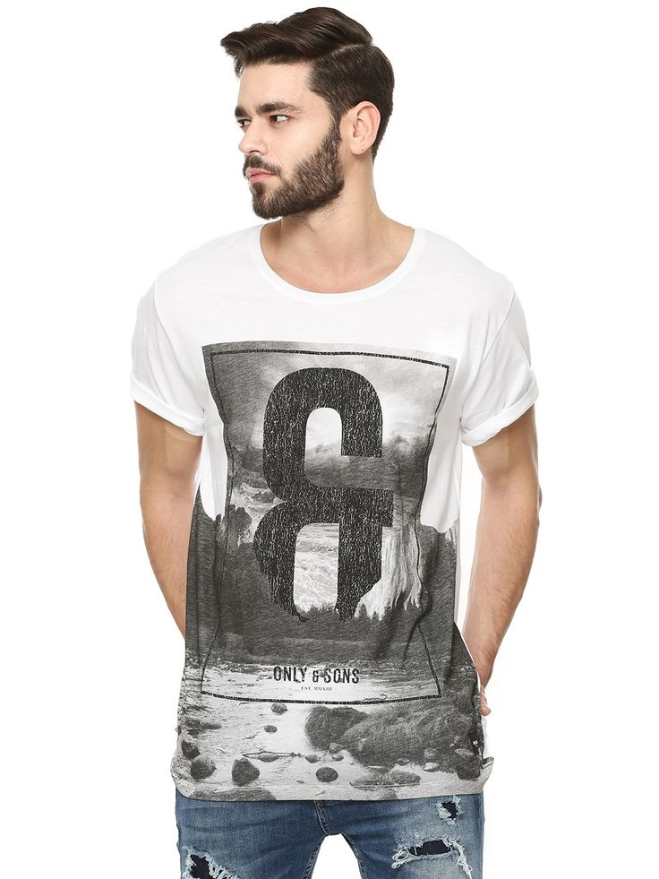 Buy ONLY & SONS Graphic Print T-Shirt For Men - Men's Multi T-