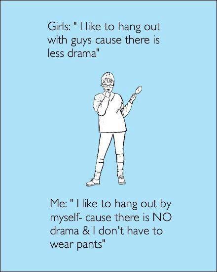 No Drama Zone No people, no drama, no pants: imgarcade.com/1/no-drama-zone