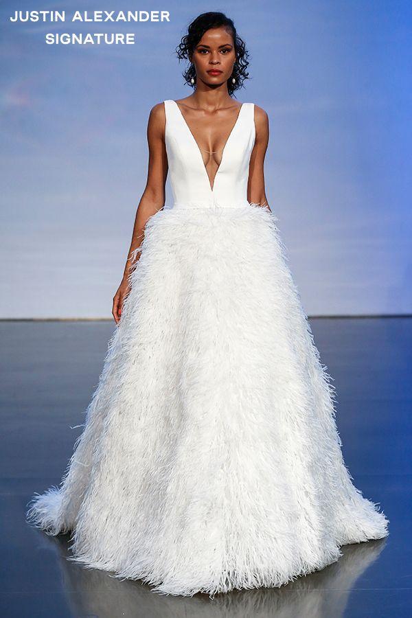 بطولة نصف الكرة الأرضية هجين Full Length Ostrich Feather Skirt With Train Wedding Long Feather Denise Australie Com