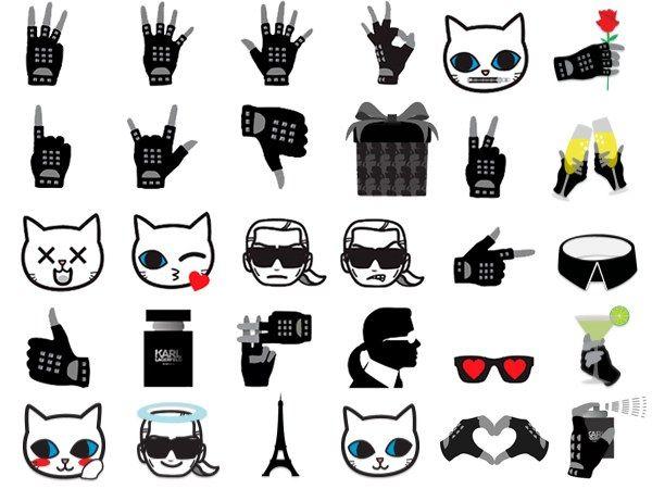 karl by Karl Lagerfeld Emojis