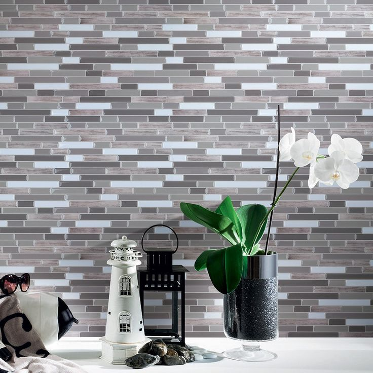 Accent Wall With Peel and Stick Wall Tile for Kitchen Bathroom Backsplash Long Stone (6 Pack) – Comes with 6 individual 12″ x 12″ self-adhesive tiles Peel and stick tile, especially designed for kitchen backsplashes and bathroom backsplashes All the style of ceramic / stone /...