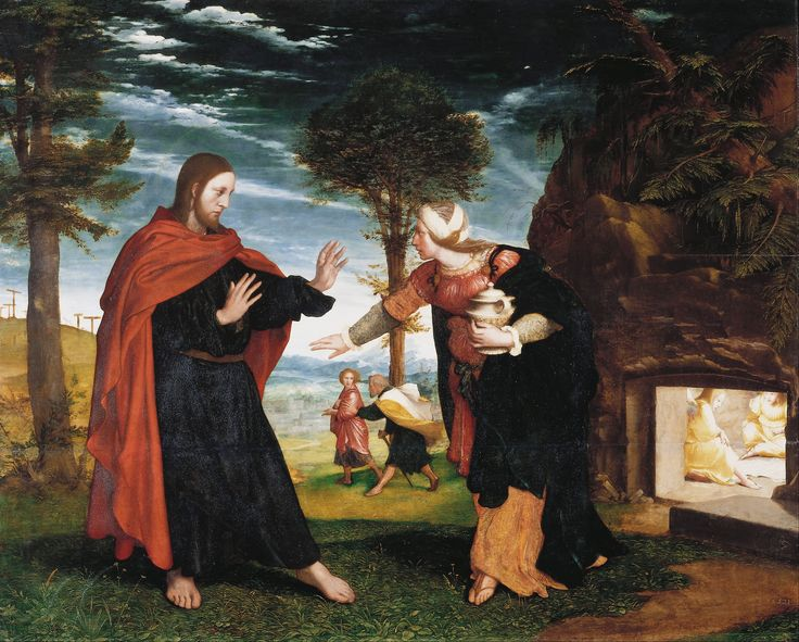 Hans Holbein the Younger : Noli Me Tangere (Royal Collection Trust (UK) - Hampton Court Palace) 1497/1498-1543 ハンス・ホルバイン