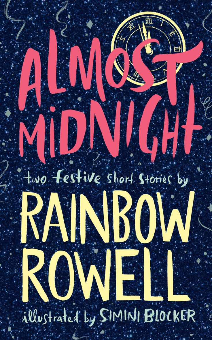 #CoverReveal  Almost Midnight: Two Festive Short Stories by Rainbow Rowell