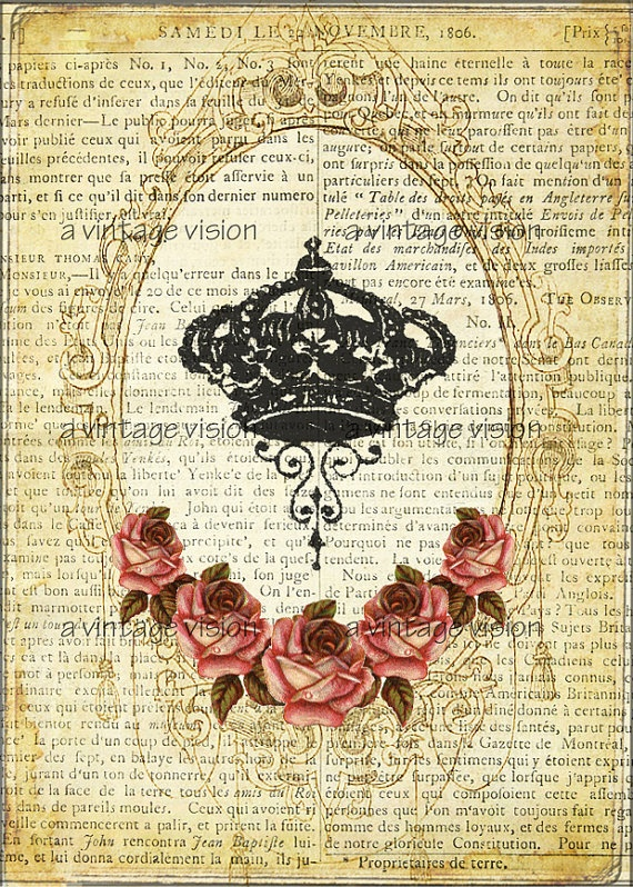 I Heart Shabby Chic: Shabby French Royal Crowns#