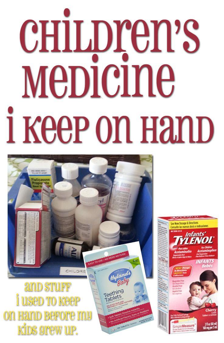 Children's Medicine: What I Keep on Hand